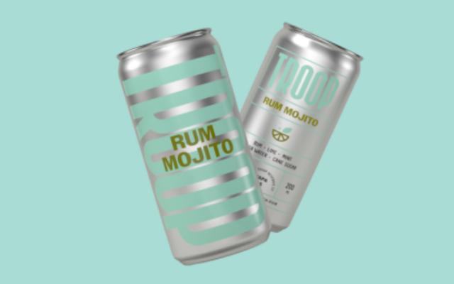 Kati Forner 和 Nimble 的预混合鸡尾酒系列品牌设计