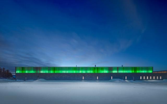 木材设计与建筑大奖金奖-以LED照明唤起北极光