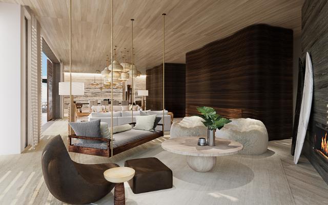 带有酒店豪华感的住宅设计