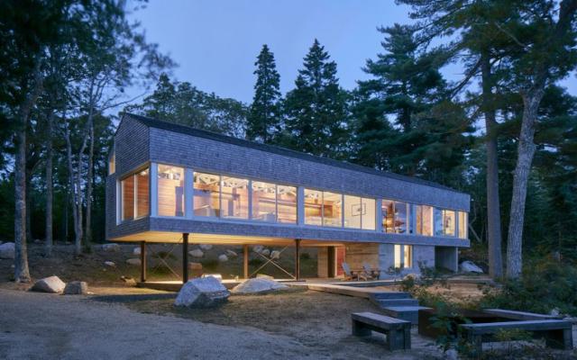 Mirror Point Cottage-木材设计与建筑大奖金奖