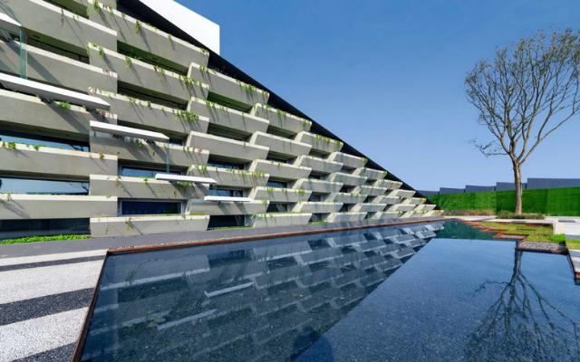 商业办公类   万科双流绿色建筑产业园