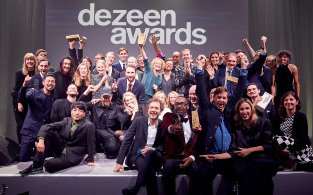 参加Dezeen Awards的15个理由