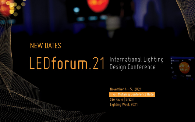 LEDforum.21推迟到2021年11月4日至5日