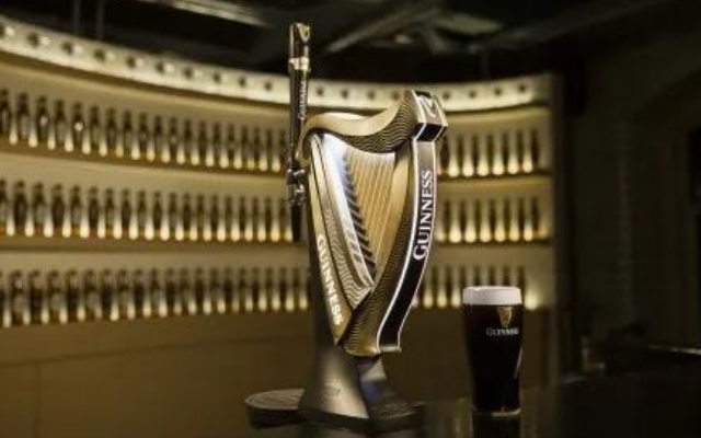 Guinness竖琴啤酒泵荣获2020DBA设计实效全场大奖