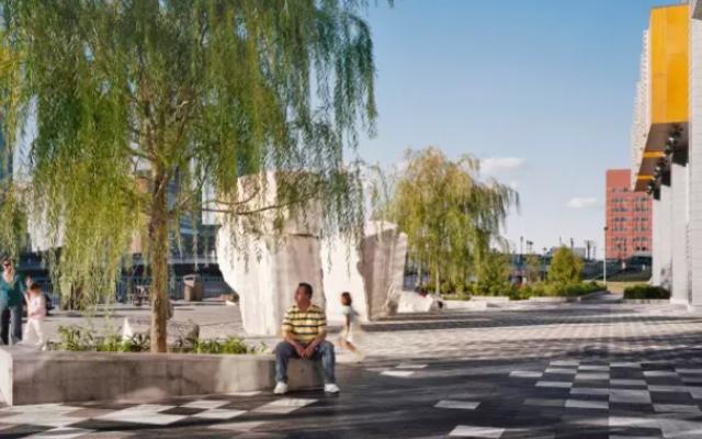三个绿地的广场手法——不会画广场的收藏