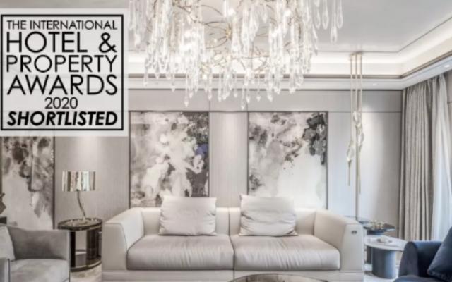 宋都阳光国际天润滨江样板间成功入选The International Hotel&Property Awards 2020