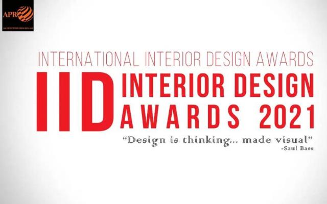 2021APR国际室内设计奖 - APR INTERNATIONAL INTERIOR DESIGN AWARDS