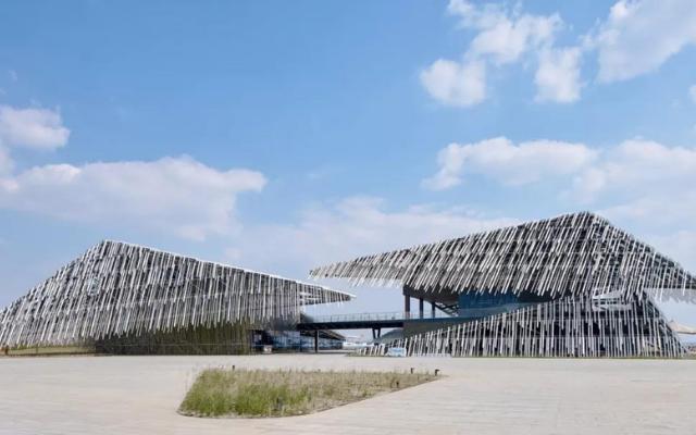"""苏州阳澄湖旅游集散中心被评为""""全球最美客运站"""""""