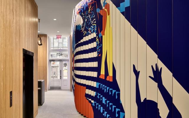 NYCxDESIGN设计大奖金奖金奖-The Kaufman Lobby Art Experience