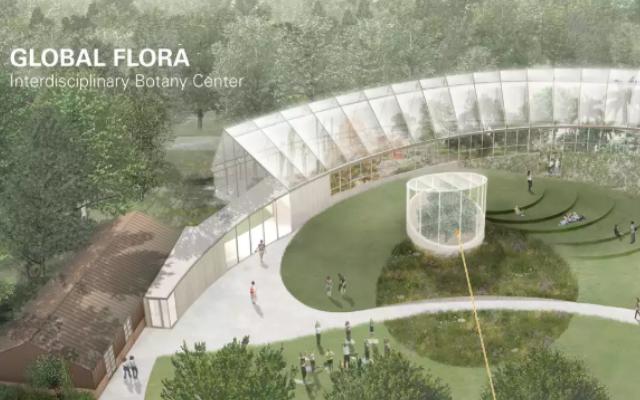 拉法基豪瑞可持续建筑大奖赛金奖-Global Flora in Massachusetts