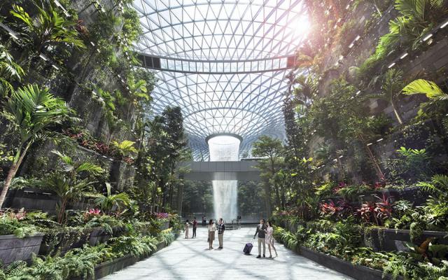 多感官的自然体验-Jewel Changi Airport